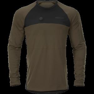 Härkila Heat L/S T-Shirt Willow Green/Black